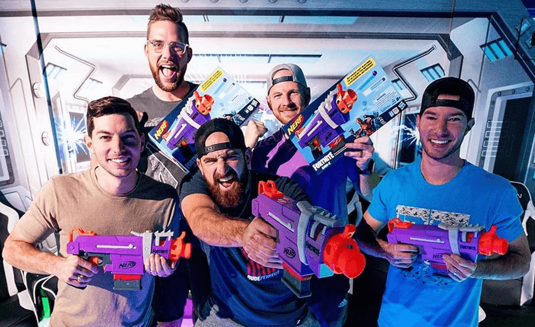 How Many Members Of Dude Perfect Are There